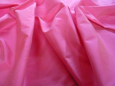 à double face taffetas satin -Cerise / rose pink-dress tissu
