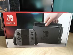 Nintendo Switch Console with Grey Joy-Cons NEW