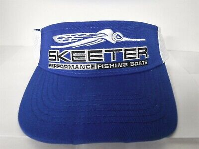 New Genuine Skeeter Boats Cotton Visor one size fits all White