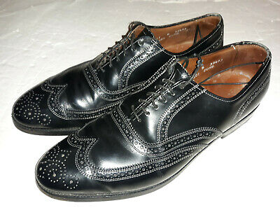 Allen Edmonds Lloyd Wingtips. Black Size 11 B