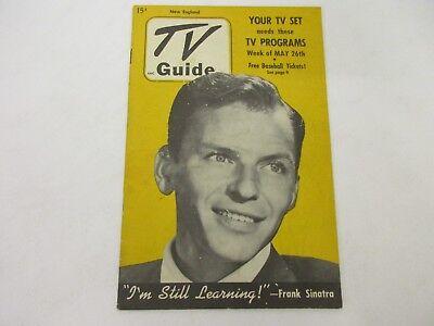 Vintage 1951 TV Guide Frank Sinatra Ole Blue Eyes RARE