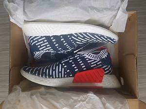 Adidas NMD R2 Blue/White Primeknit Landsdale Wanneroo Area Preview