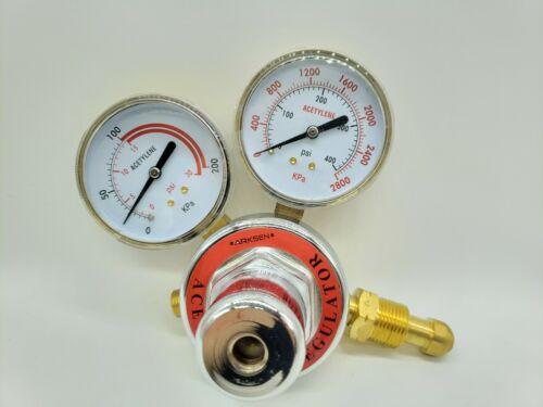 Welding Gas Acetylene Regulator Gauge Welder Torch – Missing Valve Key Business & Industrial