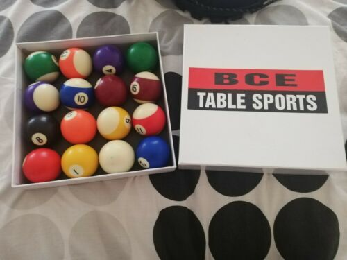48mm Pool Balls Set with triangle