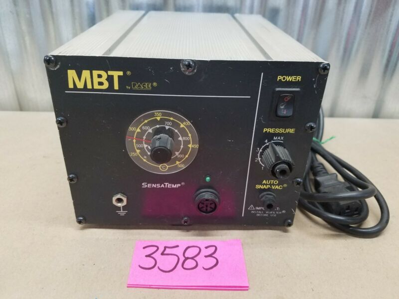PACE MBT PPS 75A SOLDERING STATION W/ SENSATEMP Desoldering TESTED WORKS