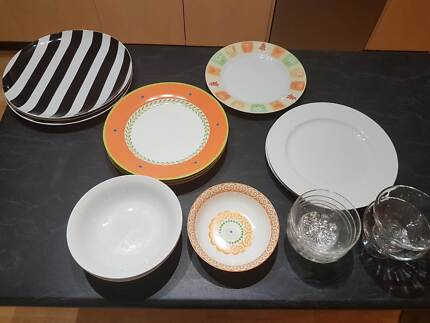 Used Quality Bowls and Plates