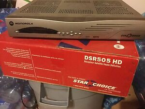 Star choice DSR505HD satellite receiver