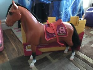 Two our generation toy horses
