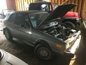 1984 VW Rabbit & 1986 VW Cabriolet $2350 OBO