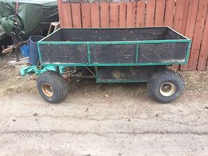 Large wagon style tub trailer  approx 4x8ft