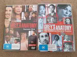 Greys anatomy season 1 & 2 Tamborine Ipswich South Preview
