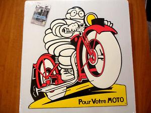 plaque en tôle Michelin fer vintage de garage plaque métal réédition 20x30 cm