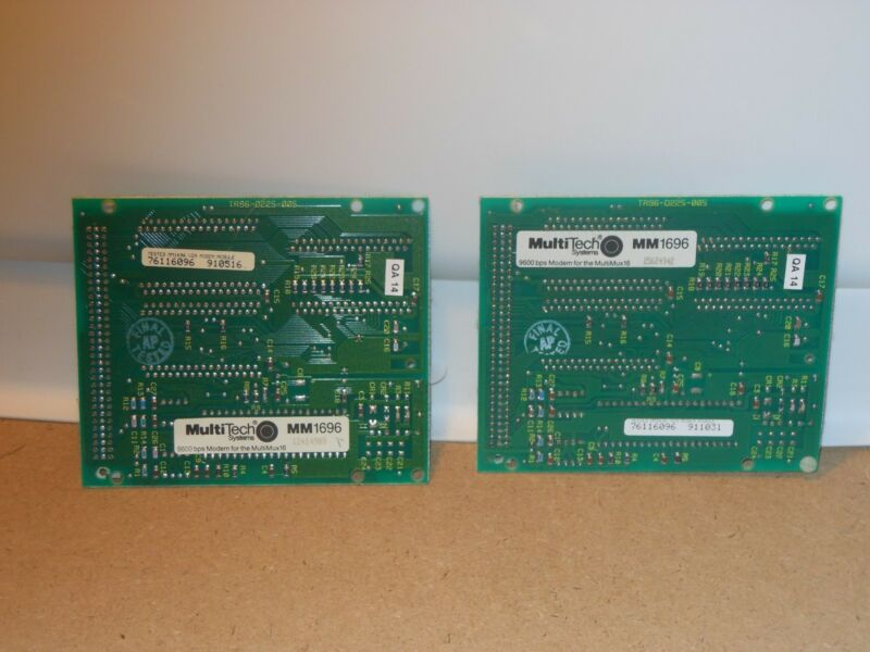 MultiTech Systems MM1696 V29 9600 BPS Link Modem for Multimux