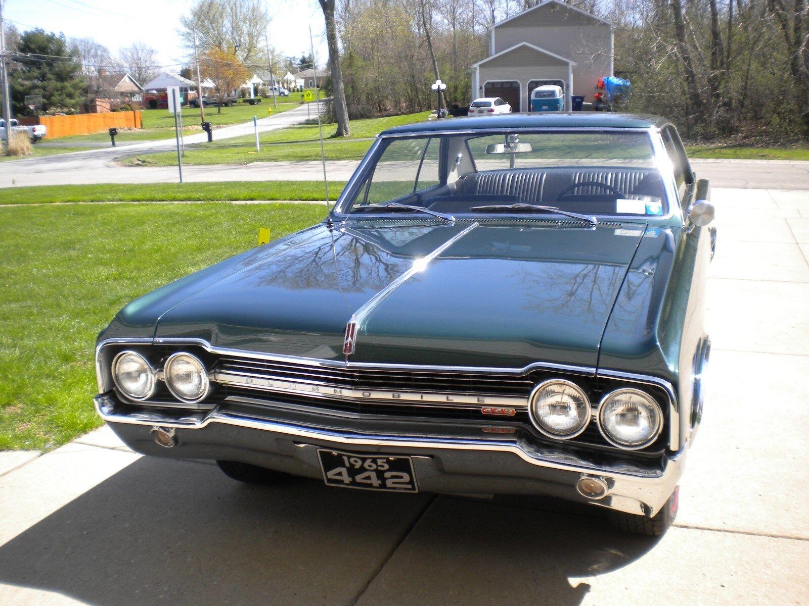 1965 Oldsmobile 442  1965 65 oldsmobile olds 442 f85 cutlass  Frame off restoration