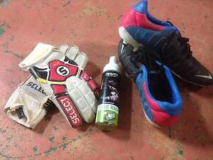 SOCCER NIKE BOOTS, GLOVES AND CLEANER Salisbury Salisbury Area Preview