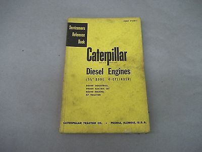 Caterpillar Tractor D7 D8800 Diesel Engines Servicemans Reference Book