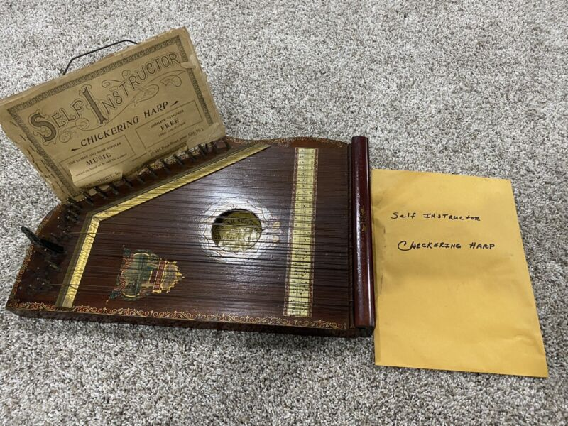 Chickering Harp 1915 Brown