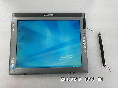 Motion Computing LE1700 Intel U1400 1.2 Ghz CPU 3GB Ram Tablet - No A/C Adapter