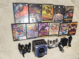 GameCube Pokemon xd edition with 11 games 2 controllers and me