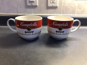 Campbell's soup bowls