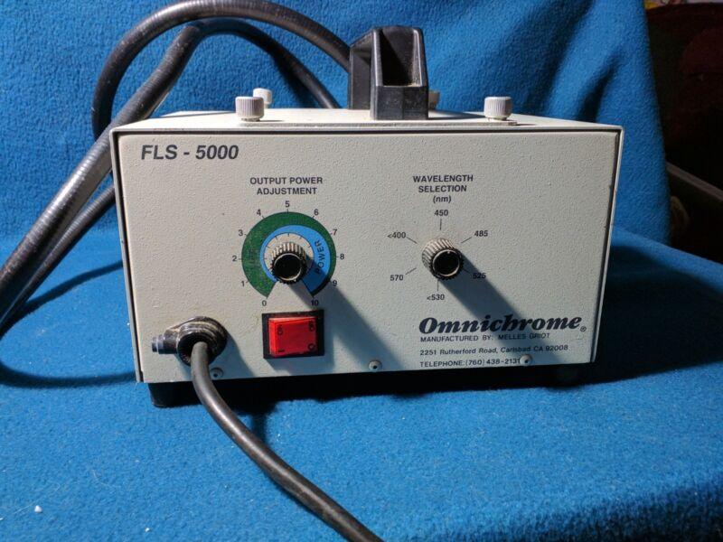 Omnichrome FLS 5000 Forensic Light Source Alternative Light Source