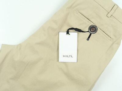 NWT Current Hiltl Tan Classic Fit Flat Front Khaki Pants Pick Size