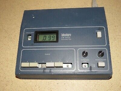 Labsphere Model Lm-4000 Radiometer