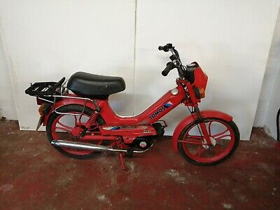 TOMOS 50  Barn find  Moped  1989
