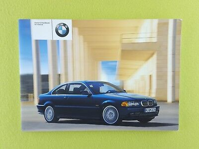 BMW 3 SERIES E46 COUPE (1999 - 2003) Owners Manual / Handbook