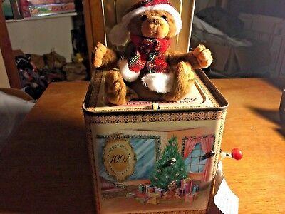 Celebration Teddy Bear - The Teddy Bear 100th Anniversary Celebration Teddy Bear jack in the Box