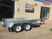10x5 GALVANISED Tandem Axle Box Trailer Para Hills West Salisbury Area Preview