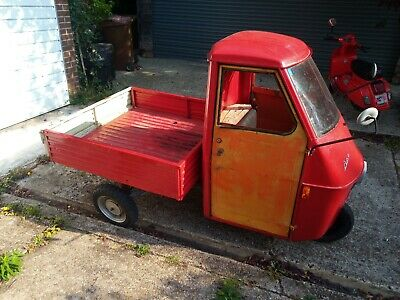 Very Rare Ape 50 TL1T 1969 - completely restored and needs very little to finish