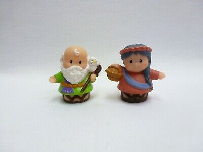 Fisher Price Little People Noah's Ark  Noah and Wife