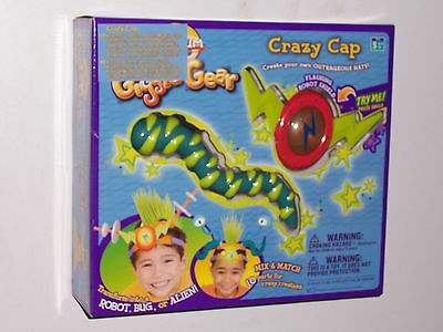 Cranium Giggle Gear - Cranium Giggle Gear Crazy Cap with Robot, Bug, and Alien Parts