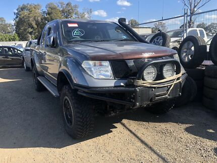 Wrecking Nissan Navara D40 Tahi Built MNT 2009 Willawong Brisbane South West Preview