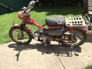 Honda Ct 90 Trail postie scooter needs carby and tlc Christies Beach Morphett Vale Area Preview
