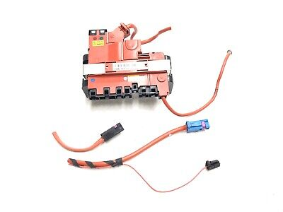 BMW 2009-2016 F01 F10 F13 RED POSITIVE BATTERY CABLE TERMINAL MODULE OEM #008