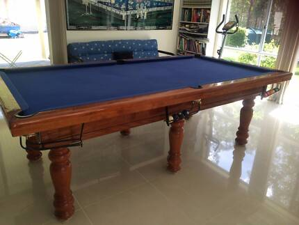 Billiard Table 8X4 slate Heron & Son Cashmere Pine Rivers Area Preview