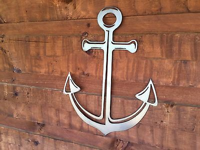 Sculptures Anchor Nautical Metal Wall Art