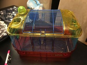Hamster cage by critter trail