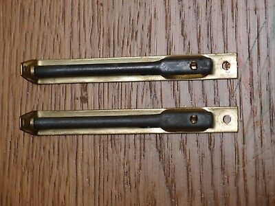 PAIR OF BOLTS FROM ANTIQUE CABINET DOORS
