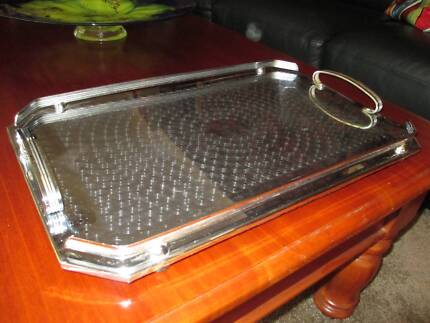 Vintage drinks serving tray Golden Grove Tea Tree Gully Area Preview