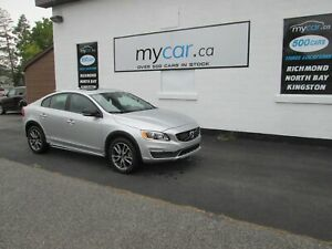 2017 Volvo S60 Cross Country T5 Platinum T5 PLATINUM, LEATHER...