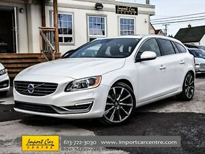 2015 Volvo V60 T5 Premier Plus AWD SPORTS PKG ROOF LEATHER WOW!!