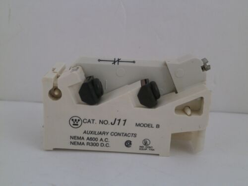 WESTINGHOUSE AUXILIARY CONTACT J11  (N.C./N.O.)