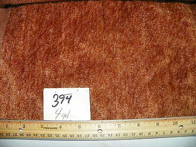 Medium Brown Soft Chenille Upholstery Fabric 1  Yard  -