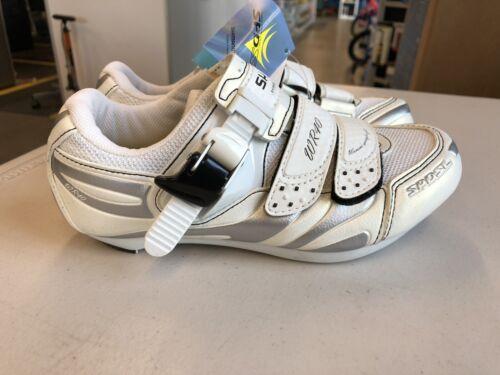 Shimano SH WR40 Womens Cycling Shoes 36 EU 5.1 US White Road