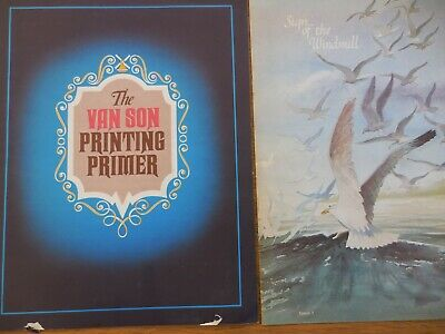 Van Son Holland Ink Printing Primer And Sign Of The Windmill