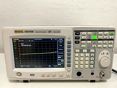 Rigol Dsa1030 Spectrum Analyzer 9khz - 3ghz Excellent Condition