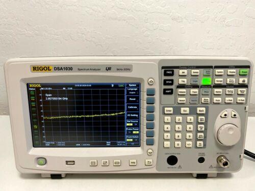 Rigol DSA1030 Spectrum Analyzer 9kHz - 3GHz, Excellent Condition